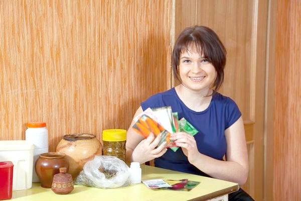 Перед походом у магазин варто перевірити домашні запаси насіння