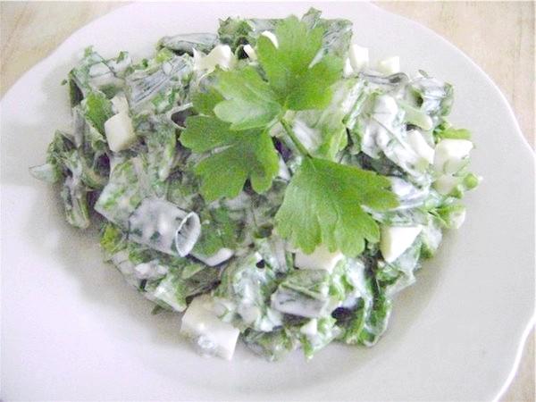 салат із зелені