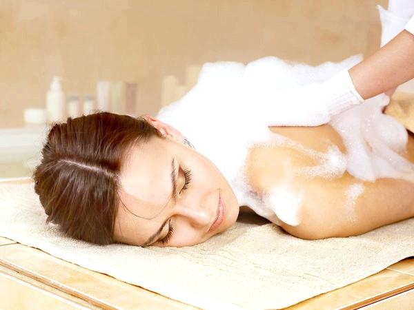 Мильний масаж - ні з чим незрівнянна річ!