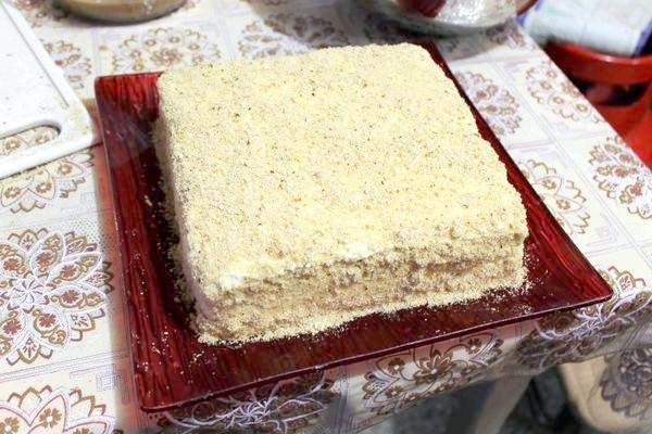готовий торт з печива