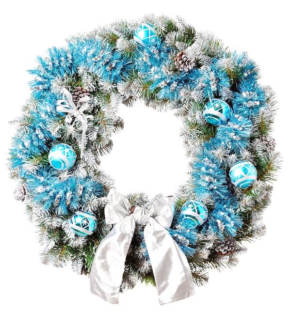 Сріблястий, блакитний - холодні кольори якнайкраще відповідають зимового настрою