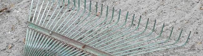Фото - Виготовляємо якісні віялові граблі для прибирання сміття і розпушування землі