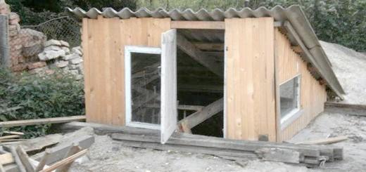Зовнішнє спорудження над кролячій ямою, miragro.com