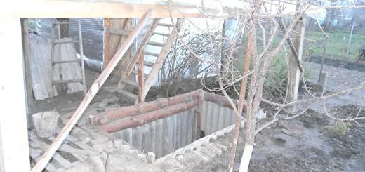 Фотографія даху над кролячій ямою, ya-fermer.ru