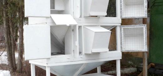 Зображення металевих кліток для кроликів, krolik-m.ru