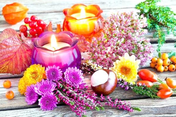 букет зі свічок