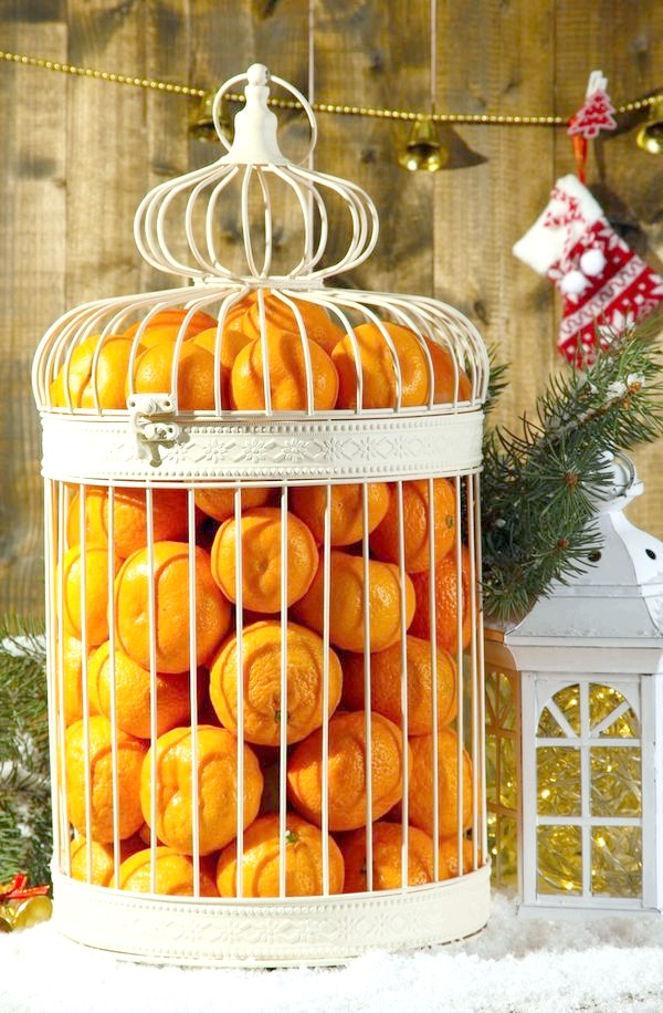 новорічні мандарини