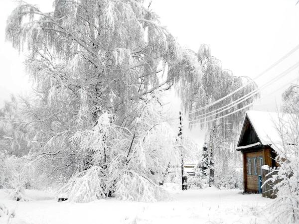 Фото - Як вижити без електрики в занесеної снігом селі