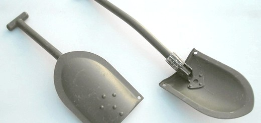 На фото мала лопата саперна складна, combat.in.ua