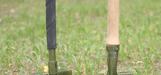 Мала піхотна лопата в землі, molle-shop.ru