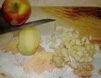 Кленові кекси з яблуками