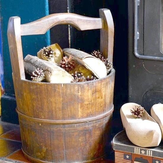 Шайка дров. Фото з сайту http://housetohome.co.uk