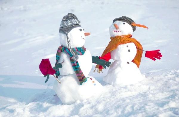 Парочка сніговиків