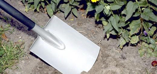 Садова лопата з заокругленим лезом, fiskars.kg