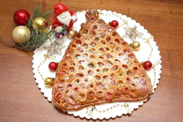 пиріг з мармеладом & amp; quot-Новорічна ялинка