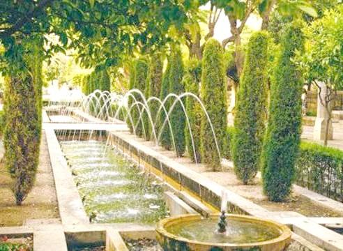 Регулярний садовий стиль, сад регулярного стилю