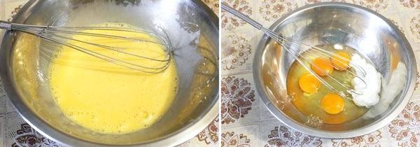 збовтуємо яйця як на омлет
