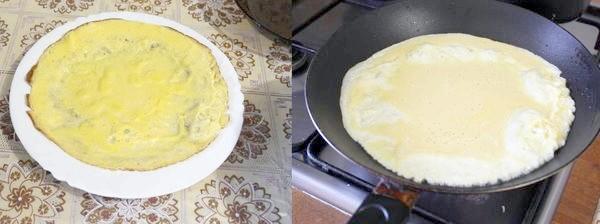 смажимо яєчні млинці