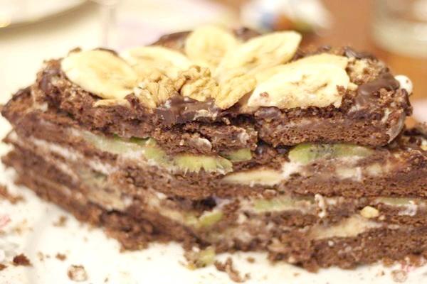 тортик в розрізі