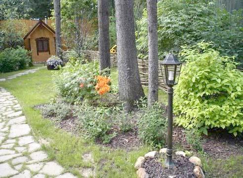 Ліхтар садовий для освітлення доріжки