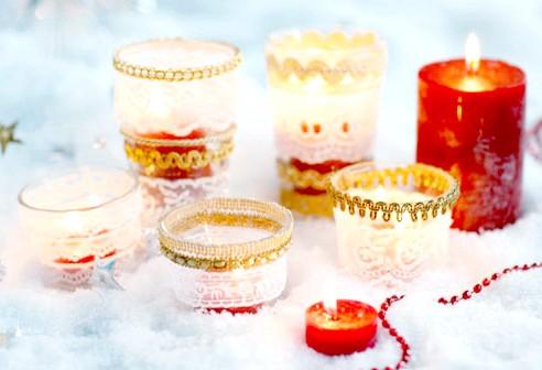 Новорічна свічки