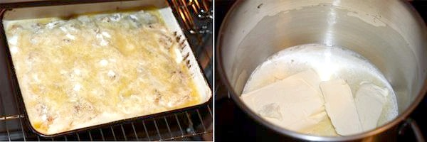 Вишневий пиріг з хрусткою скоринкою з кукурудзяних пластівців і Яблучний пиріг з сухого тіста.