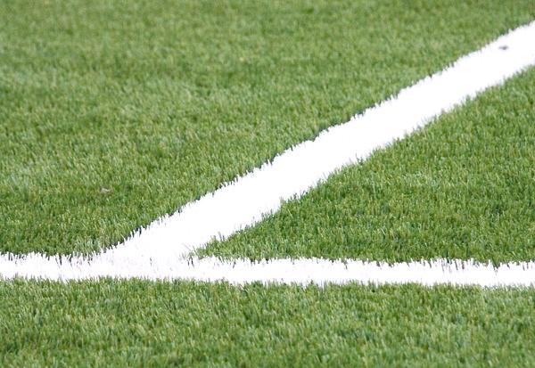 Штучний газон на стадіоні