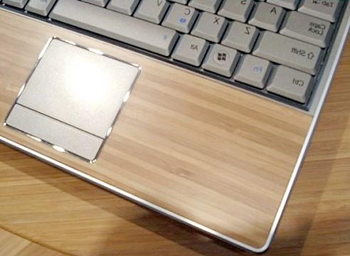 Ноутбук бамбуковий