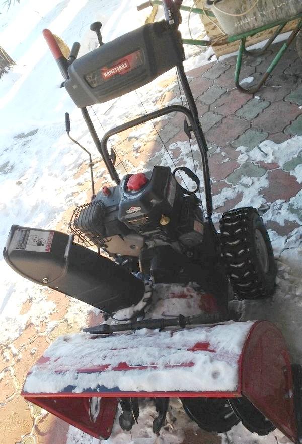 Снігоприбиральник з 4 ступінчастим двигуном