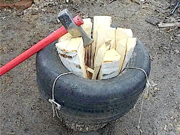 Як наколоти машину дров за 4 години
