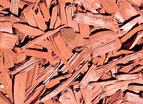 Фарбована деревна стружка
