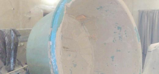 Зображення стеклопластиковой форми для ставка