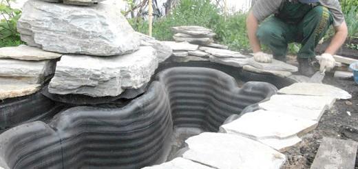 Процес обробки ставка натуральним каменем, sad-ufa.ru