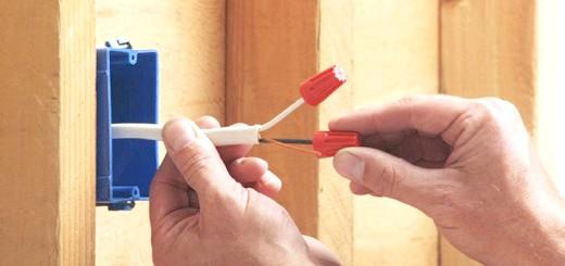 Процес ізоляції проводів, voltmeter.com.ua