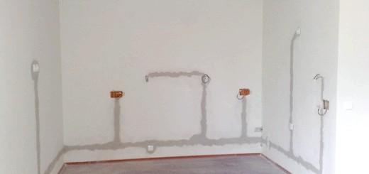 Фото стін після заміни проводки, 5masterov.ru