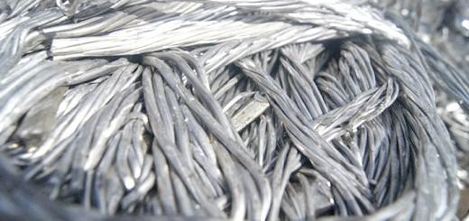 На фото алюмінієвий кабель, металобрухт-москва-мо.рф