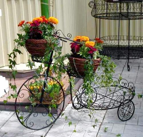 Фото - Ковані вироби для саду - вдале рішення оригінального дизайну