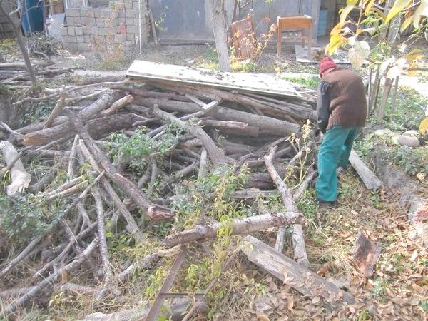 величезну кількість дров
