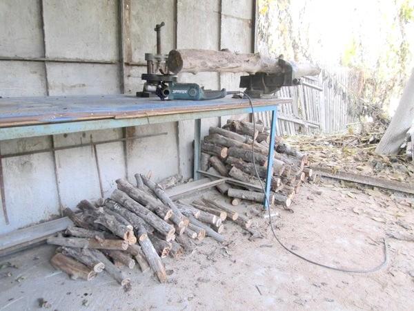 стопки дров