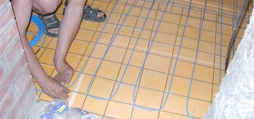 Зображення теплої підлоги в лазні, centro-pol.ru