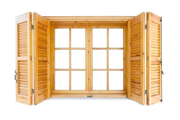 Віконниці з декількох частин