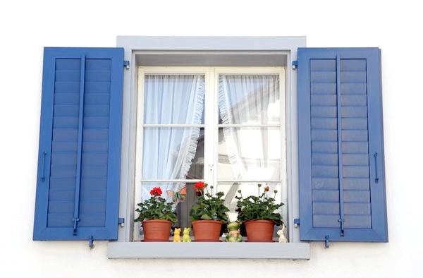 Яскраві віконниці