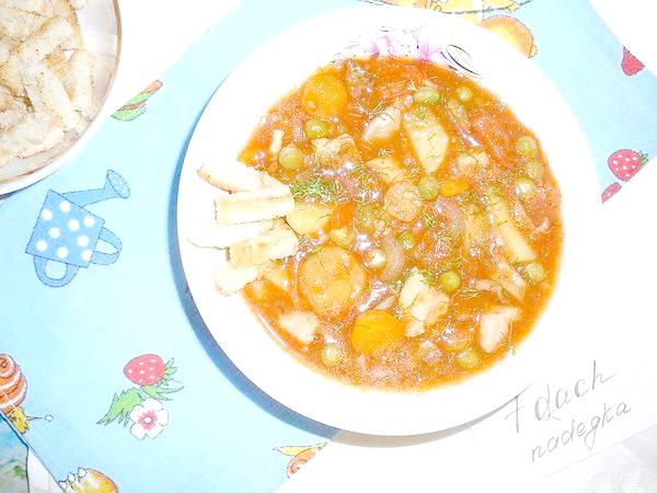 Запечений томатний суп