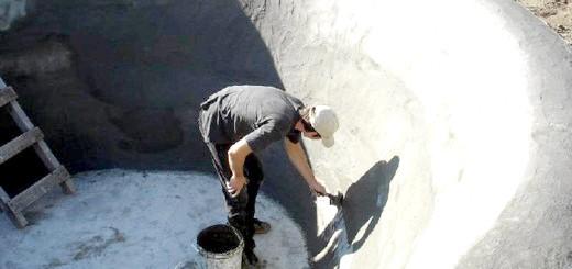 Процес побудови монолітного водойми, avalon55.com