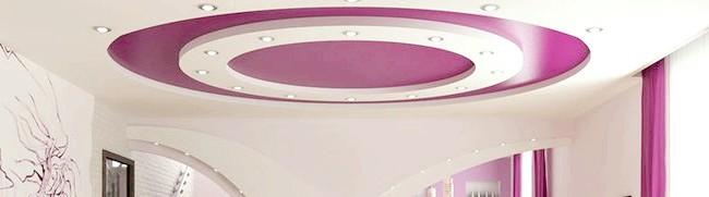 Фарбування стелі водоемульсійною фарбою