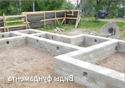 Фото - Види фундаменту