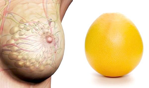 Апельсин і жіночі груди