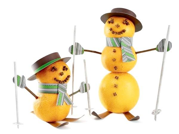 Фото - 5 Ідей новорічного декору з мандаринів