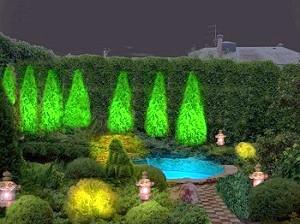 Фото - Декоративне підсвічування саду