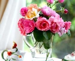 Фото - Як правильно складати букети у вазах